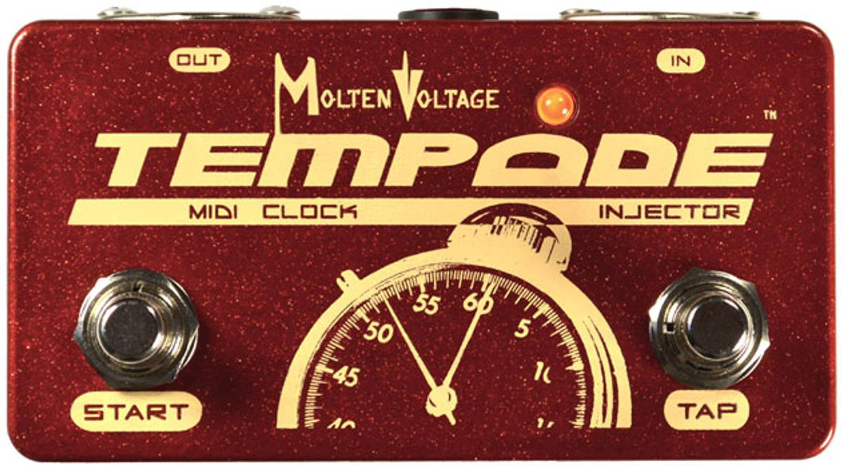 Molten Voltage Introduces the Tempode MIDI Clock Generator