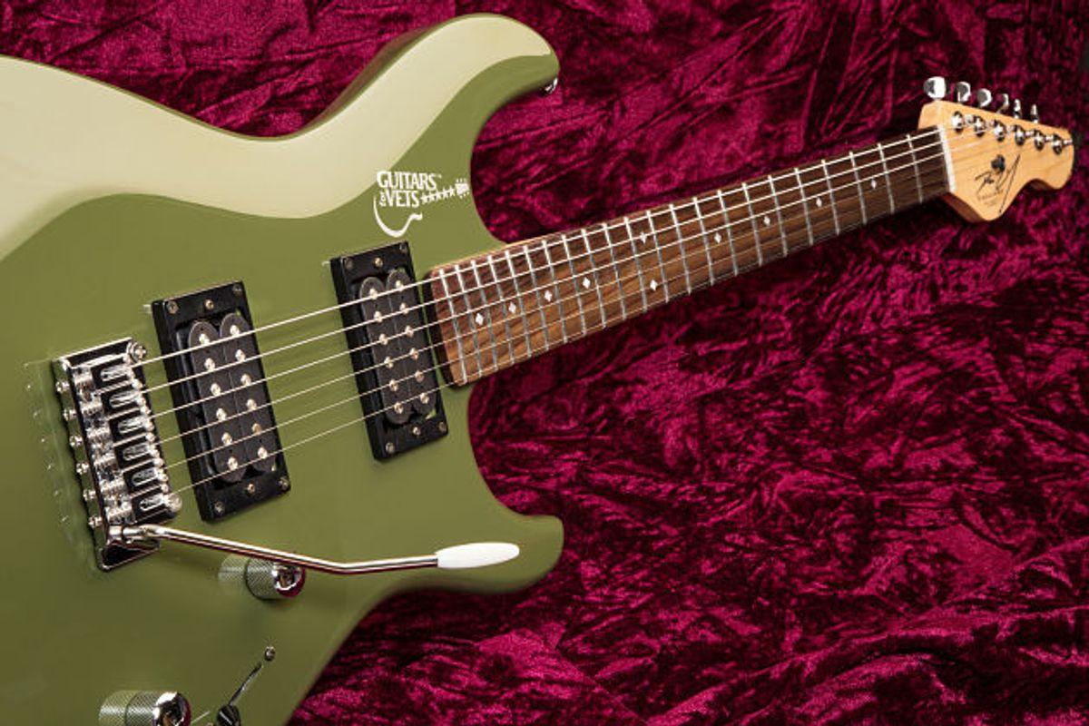 Dean Zelinsky Private Label Guitars Releases Guitars for Vets Model
