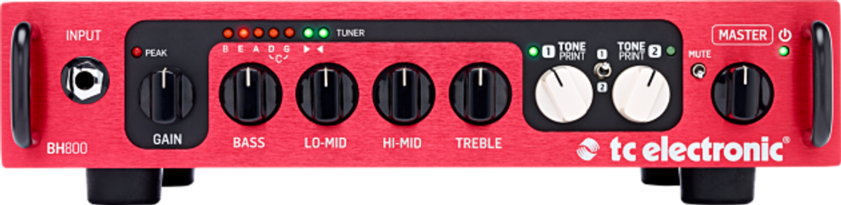 TC Electronic Releases the BH550 and BH800 Bass Amps