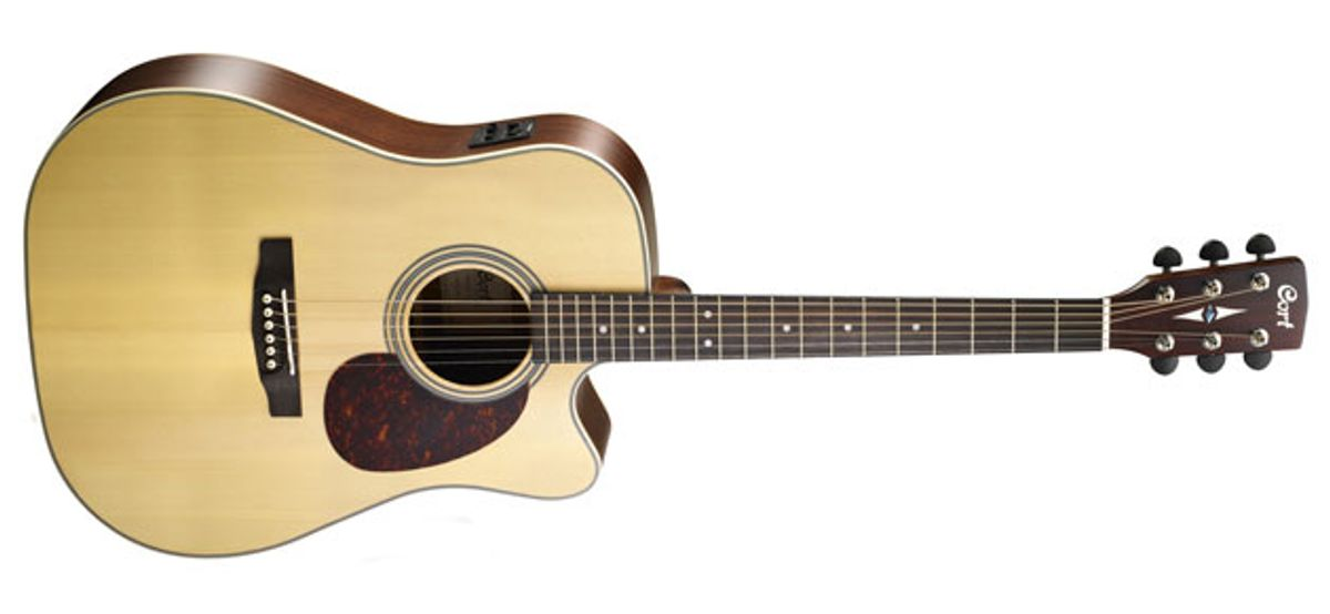 Cort Guitars Introduces the MR600F Acoustic