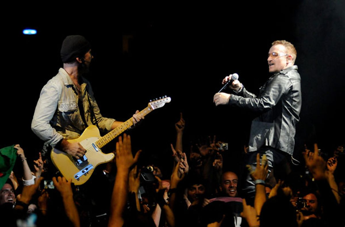 The Edge and Bono Join Fender's Board of Directors