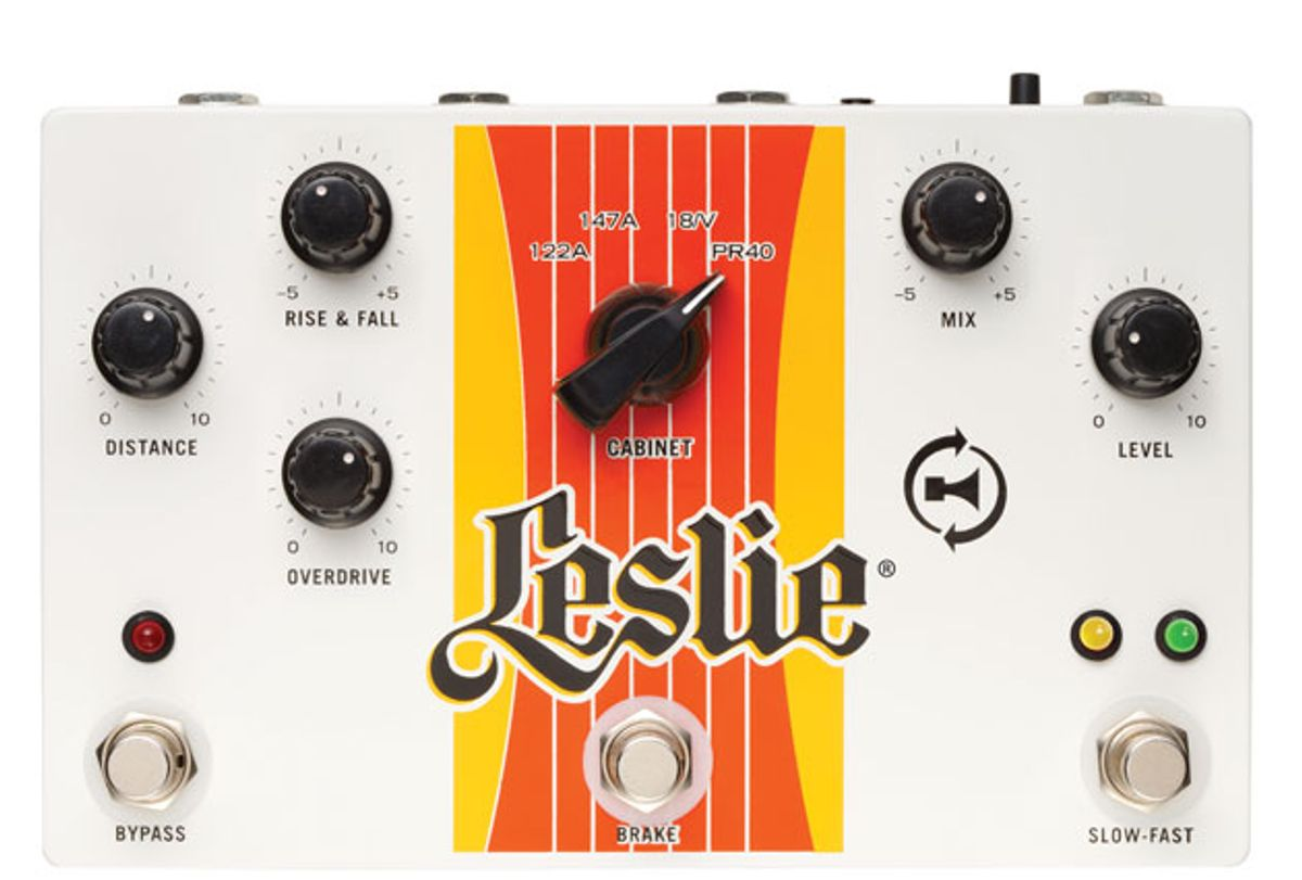 State of the Stomp: Hammond's Leslie-in-a-Box