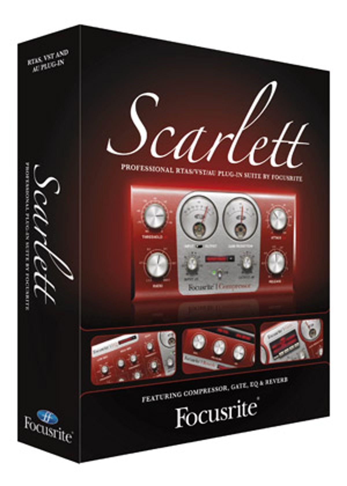 Focusrite Introduces the Scarlett Plug-in Suite