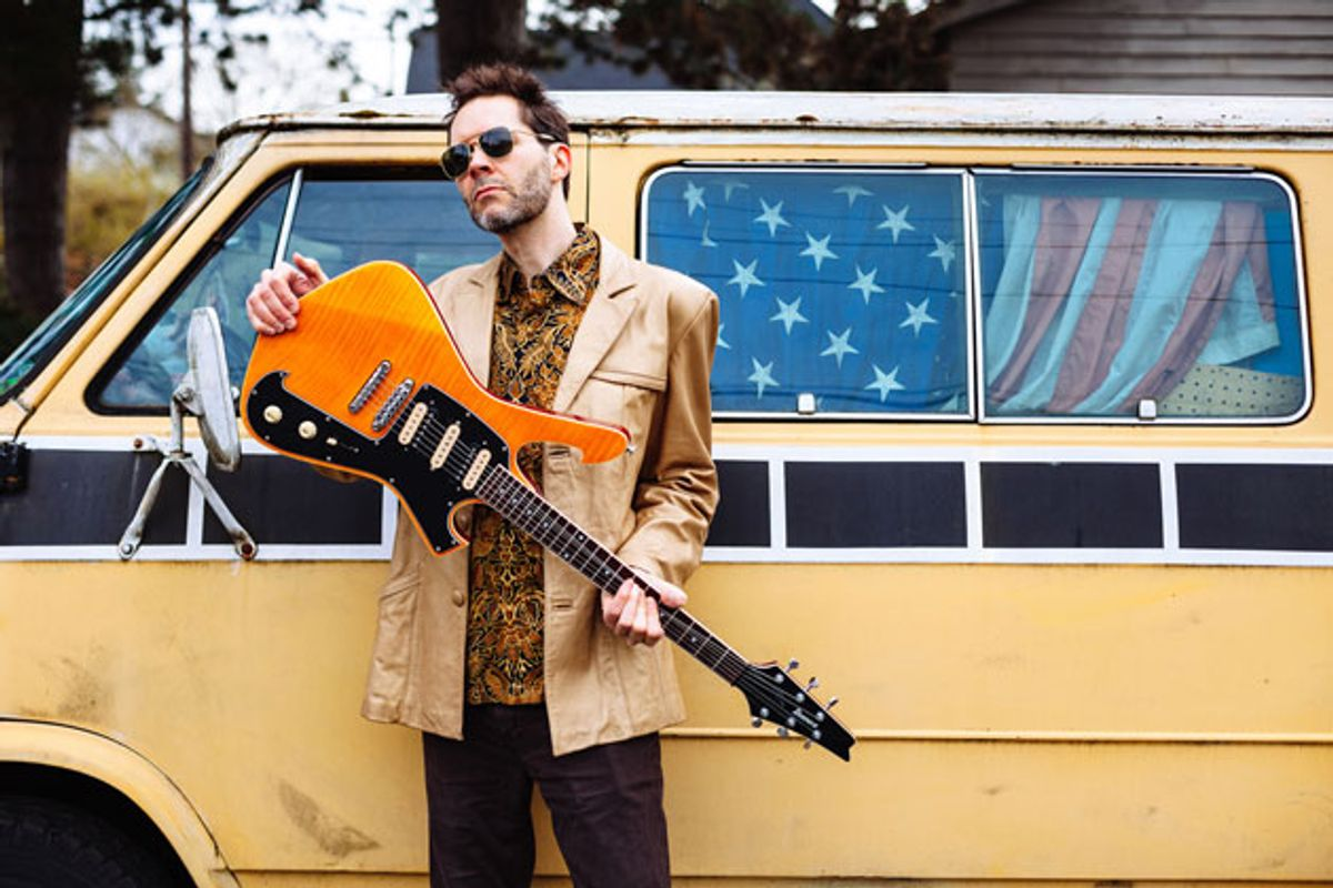 """Watch Paul Gilbert Play """"Havin' It"""" From His New Album 'Behold Electric Guitar'"""