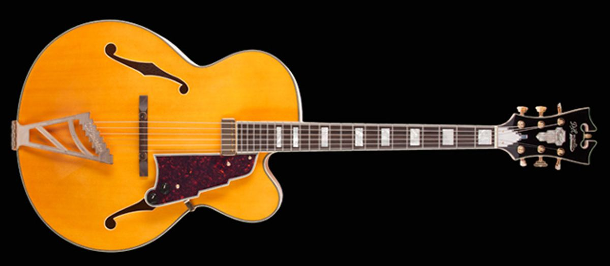 D'Angelico Expands Brand With Introduction of Four New Standard Archtop Reissues, a D'Angelico Bass and Limited Edition USA Masterbuilt Series