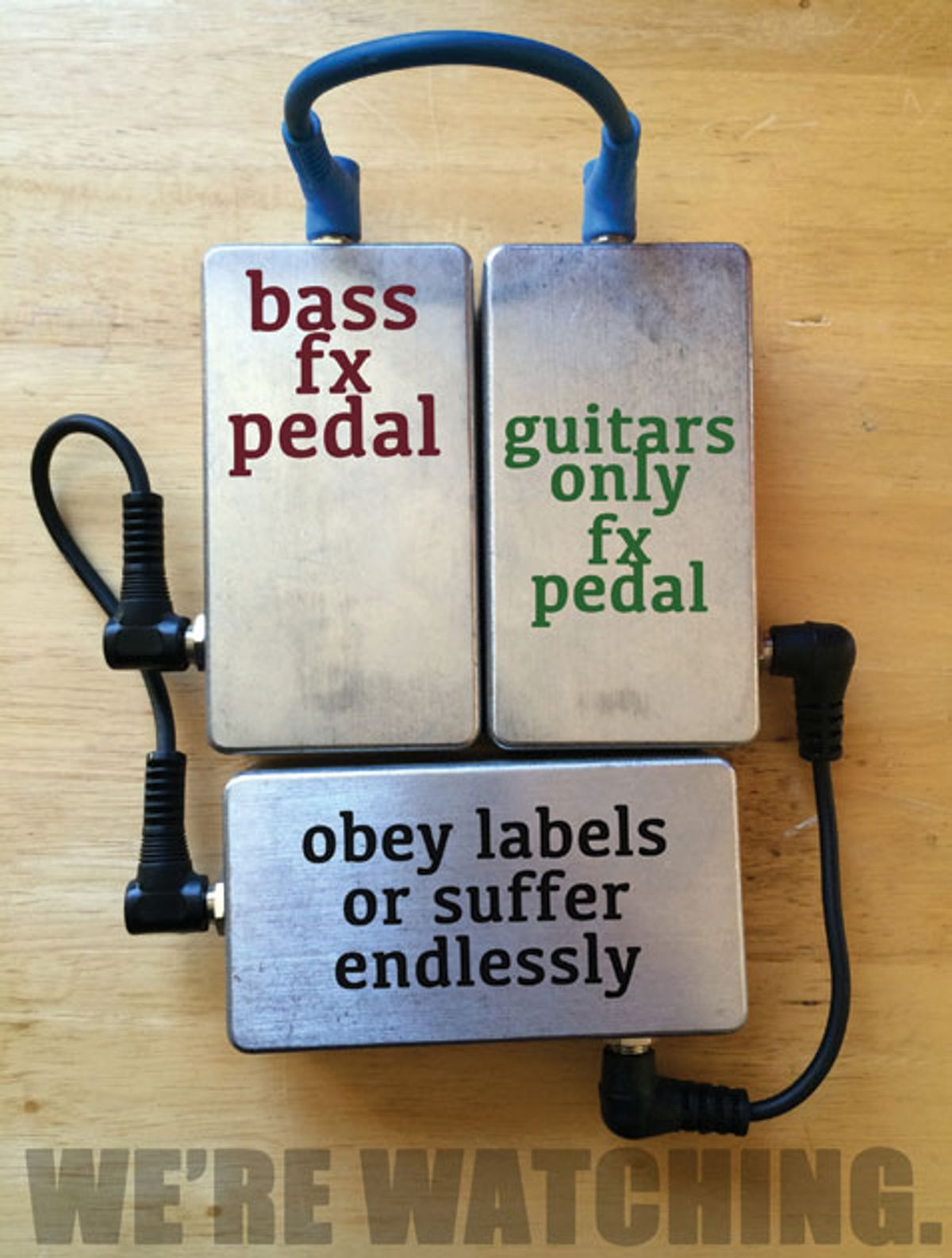State of the Stomp: Imagine All the Pedals