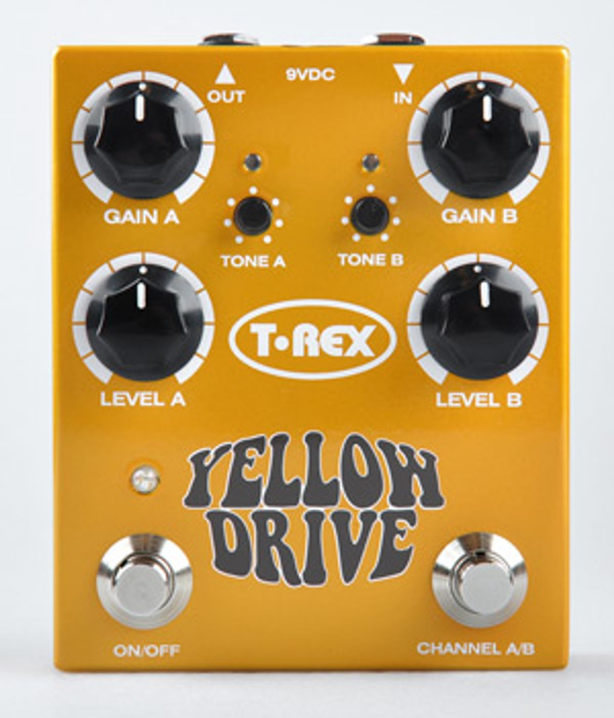 T-Rex and Guitar Center Launch Exclusive Pedal Line With Yellow Drive