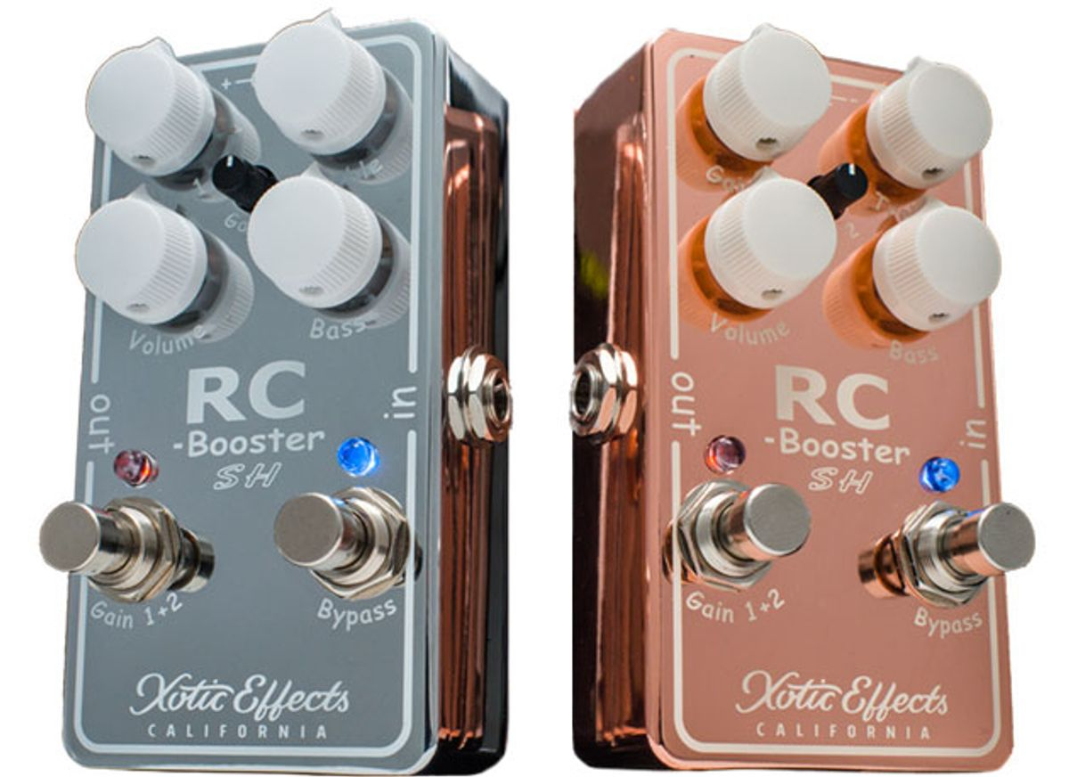 Xotic Effects Introduces the Scott Henderson RC Booster