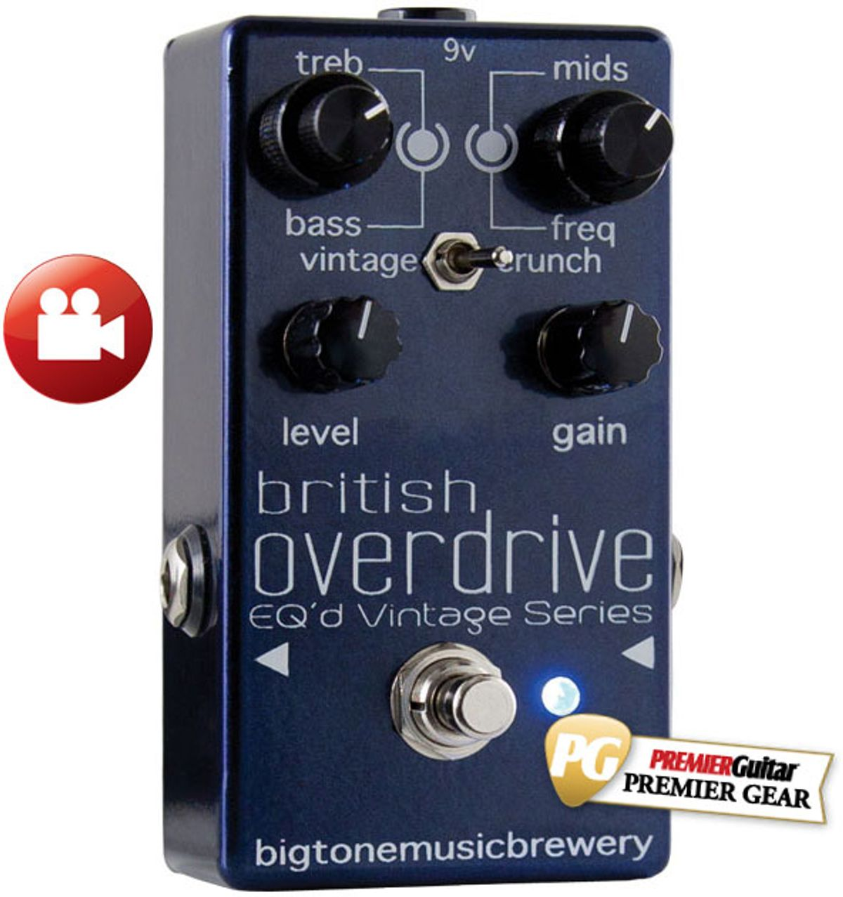 Big Tone Music Brewery British Overdrive Review