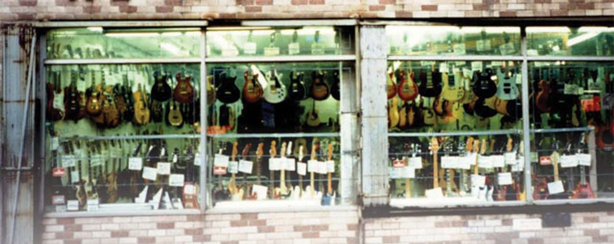 Big Apple Guitar Shops: Then and Now