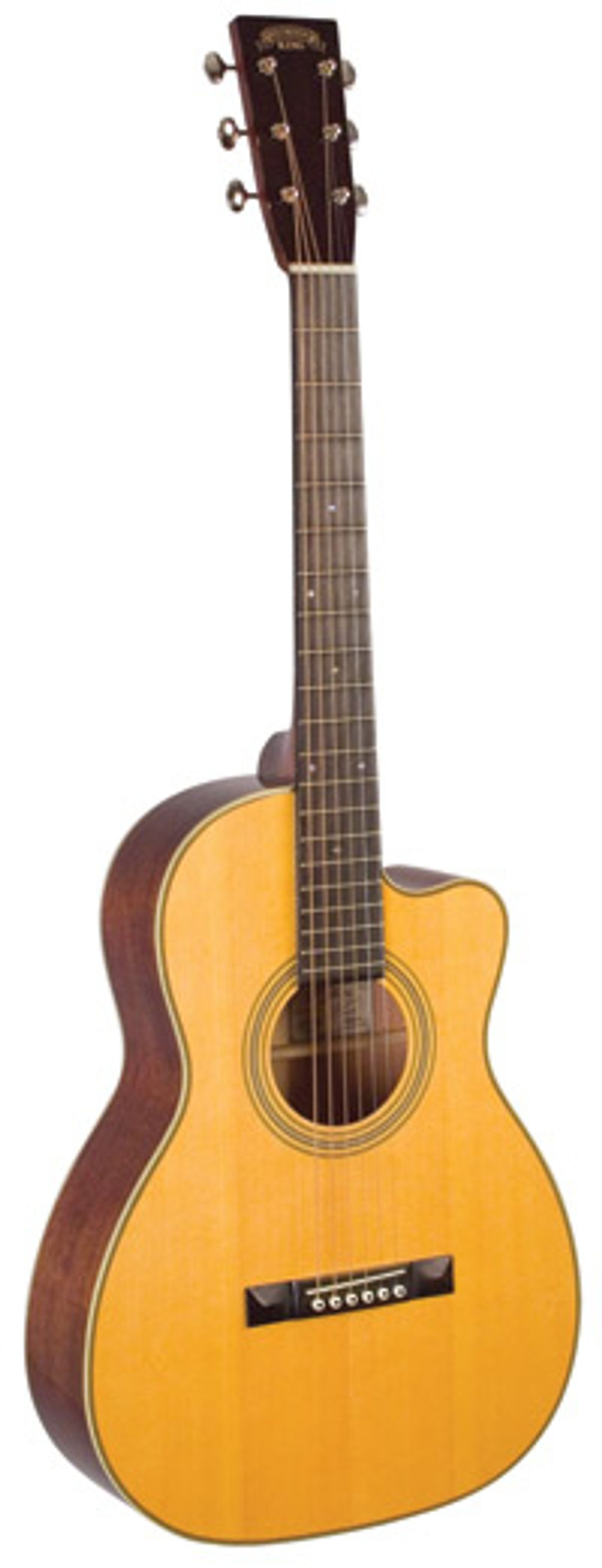 Recording King Announces Cutaway Parlor Guitars in Collaboration with Eric Schoenberg