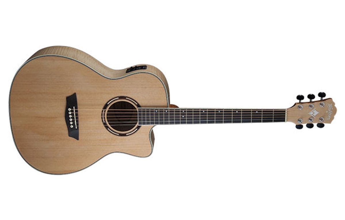 Washburn Presents Apprentice Series Acoustic Guitars