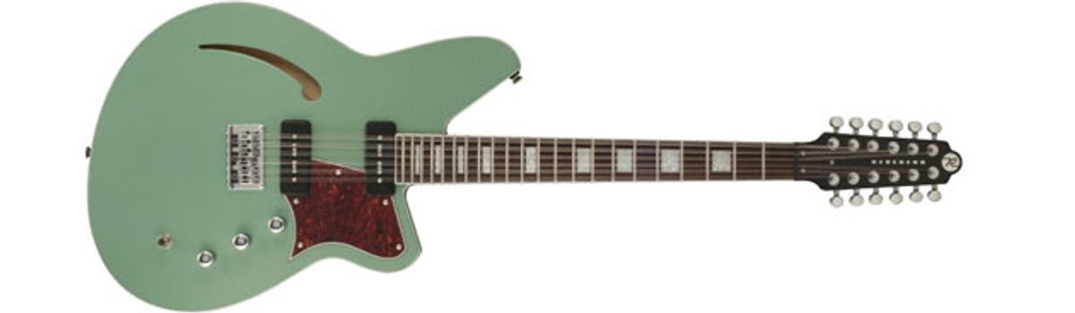 Reverend Guitars Unveils the Airwave 12 and Billy Corgan Signature Model
