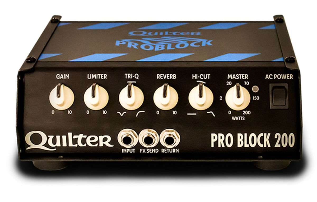 Quilter Announces the Pro Block 200