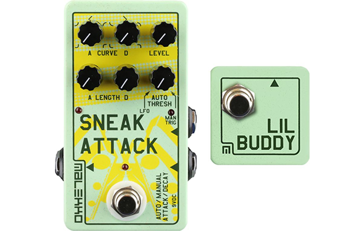 Malekko Announces the Sneak Attack and Lil' Buddy