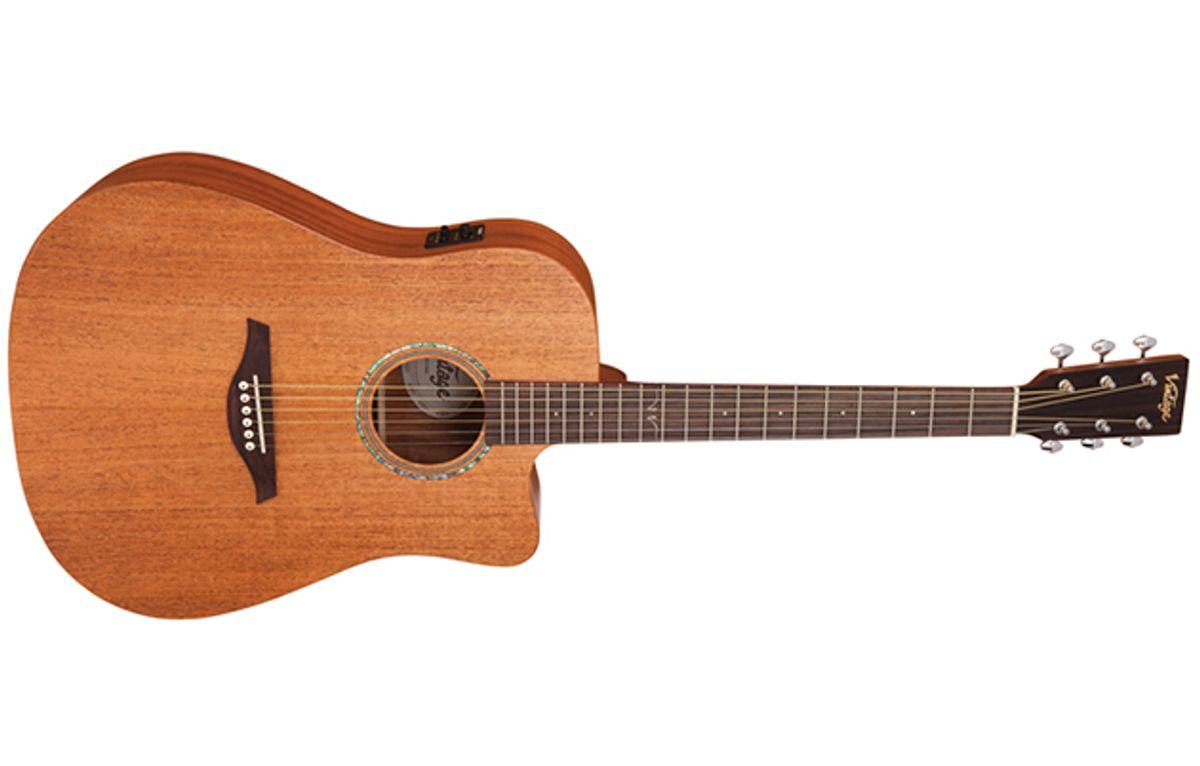 Vintage Guitars Unveils the V501 and VEC501