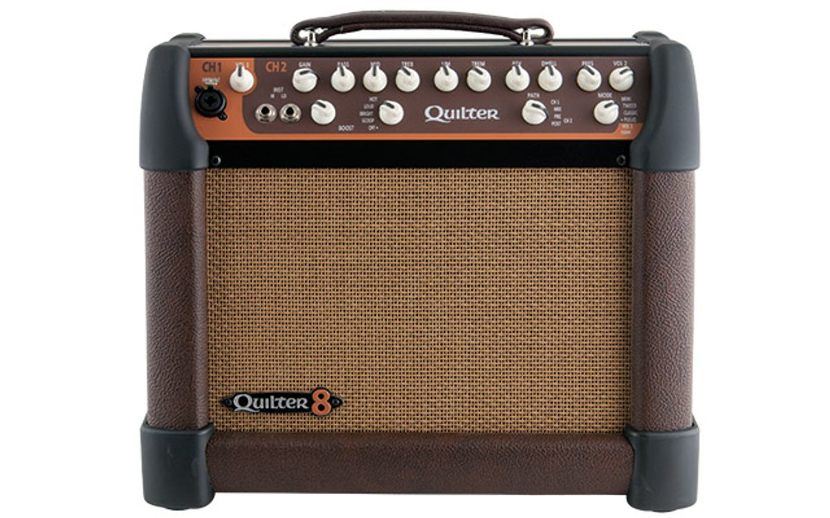 """Quilter MicroPro 200 Full-Range 8"""" Amp Review"""