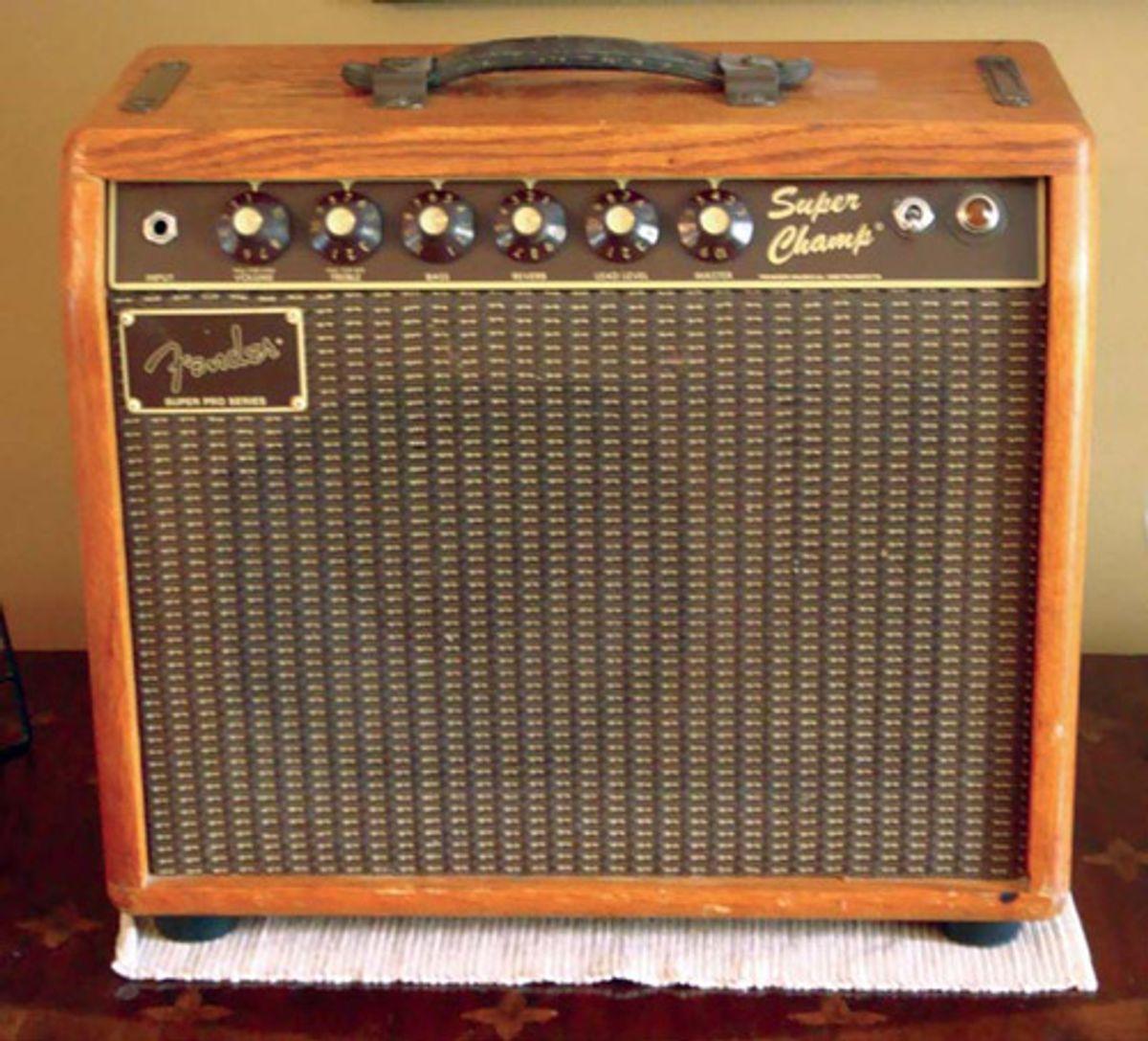 1986 Fender Super Champ Deluxe