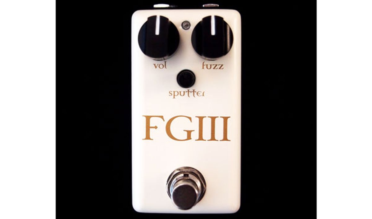 Red Witch Pedals Reveals the Fuzz God III