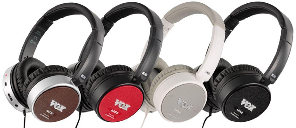 VOX Announces the New Amphones Headphones