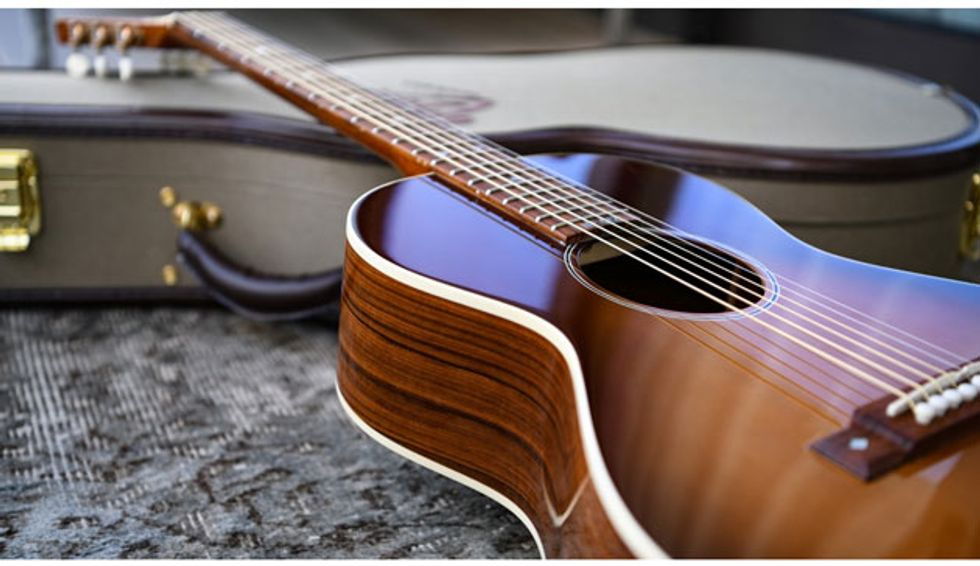 B&G Guitars Launches the Caletta Acoustic