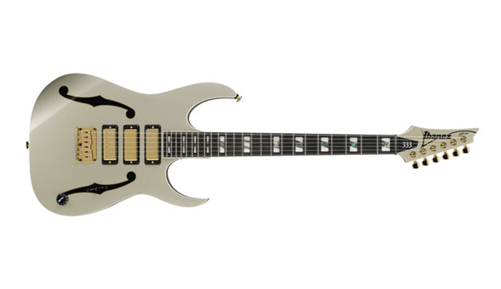 Ibanez Introduces New Pgm333 Paul Gilbert 30th Anniversary Guitar