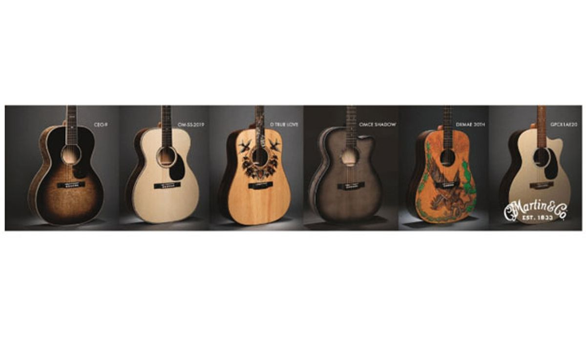 Martin Guitar to Debut Special and Limited-Edition Models