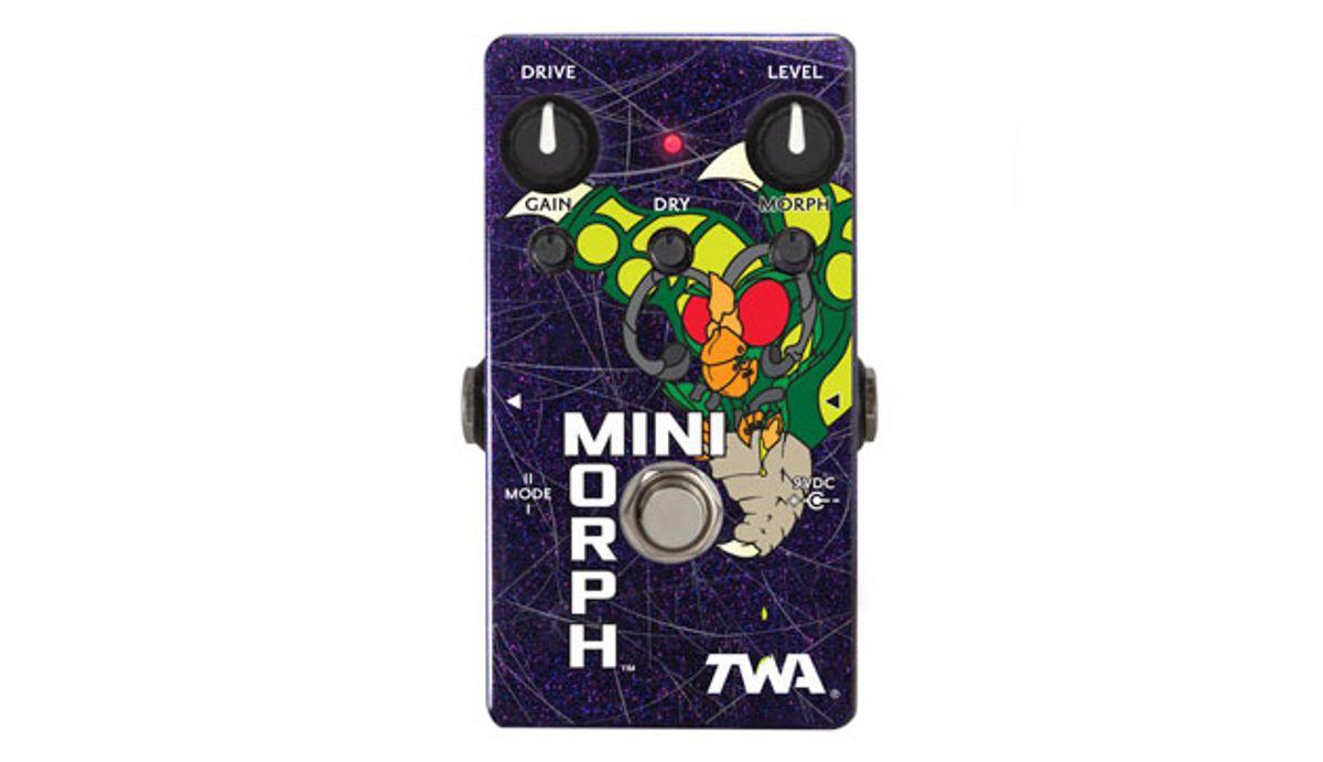 TWA Releases the MM-01 MiniMorph Dynamic Waveshaper