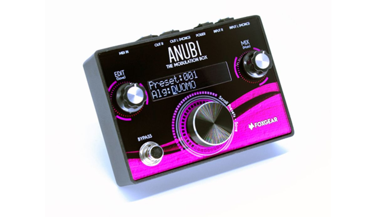 Foxgear Presents the ANUBI Series