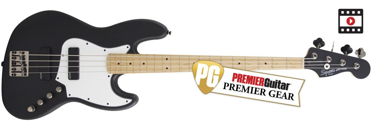 Squier Contemporary Active Jazz Bass HH Review