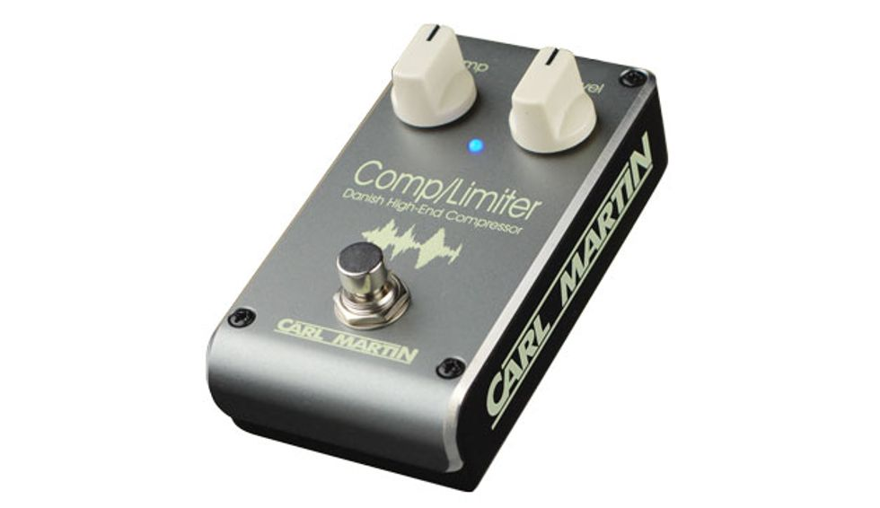 Carl Martin Unveils the Comp/Limiter