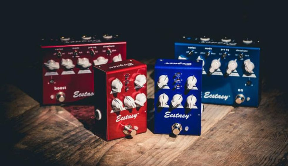 Bogner Unveils the Ecstasy Red and Blue Minis