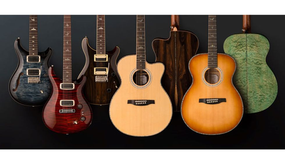 PRS Guitars Announces New 2019 Models