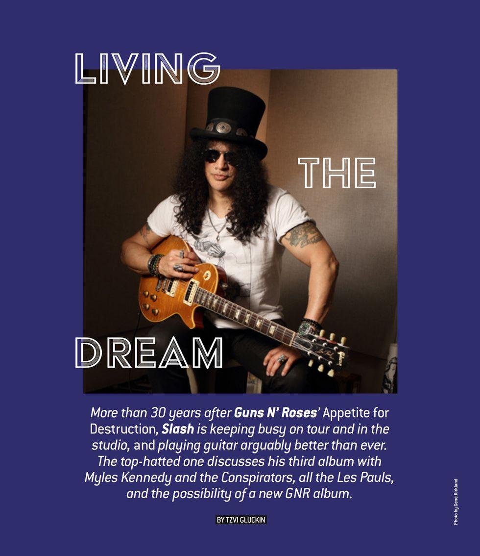 Slash: Living the Dream | Premier Guitar