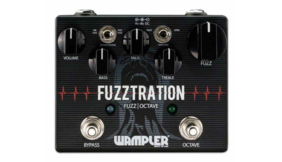 Wampler Launches the Fuzzstration