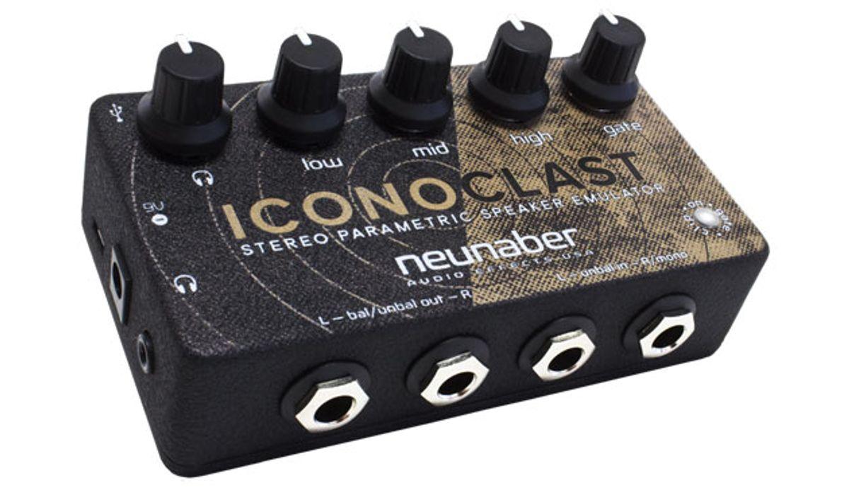 Neunaber Announces the Iconoclast Guitar Speaker Emulator