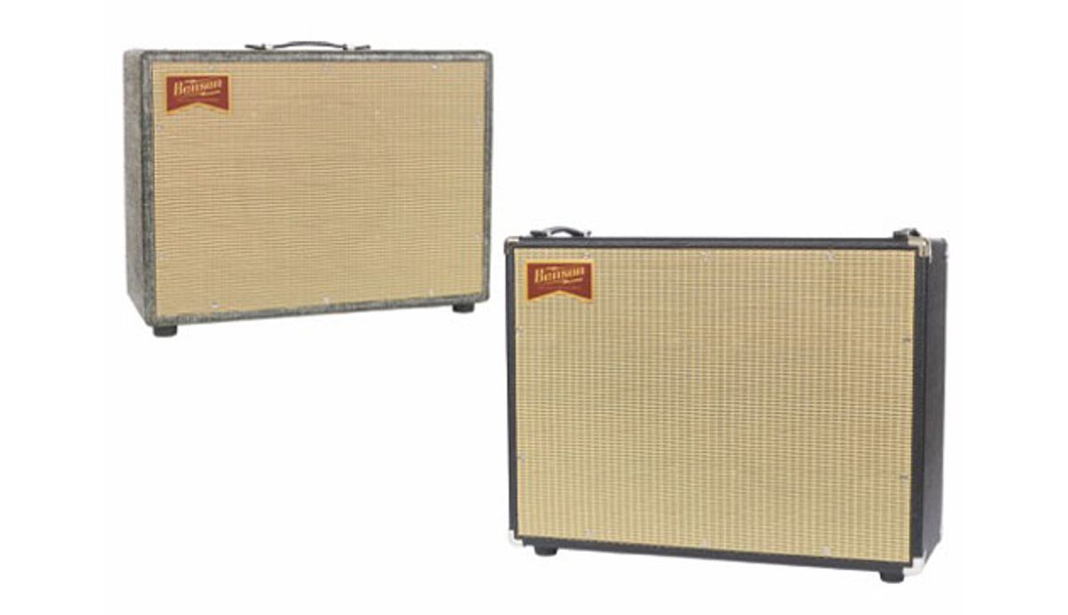 Benson Amps Releases the Monarch Reverb and Chimera Reverb