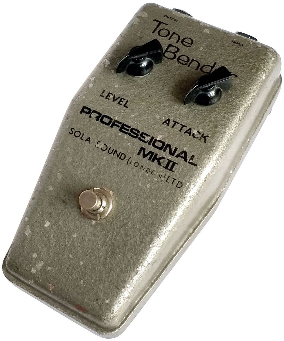 Fifty Years Of Filth The Story Of The Mighty Tone Bender Fuzz Premier Guitar
