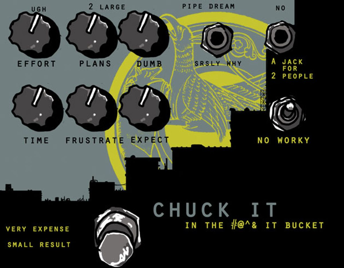 State of the Stomp: Chuck It in the Bucket