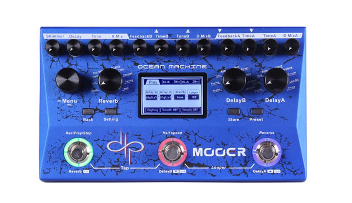 Mooer Releases the Devin Townsend Signature Ocean Machine