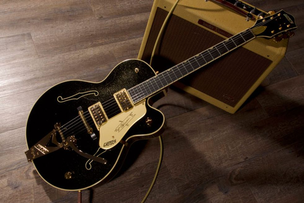 Gretsch Announces the Steve Warnier Signature Nashville Gentleman