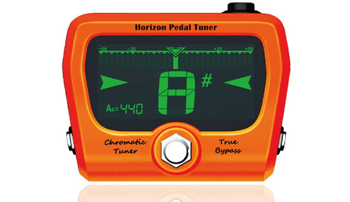 GoGo Tuners Releases Limited Edition Horizon Pedal Tuner