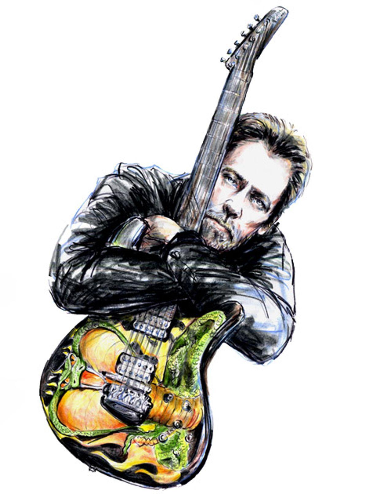 Psych-Blues Guitar Hero Harvey Mandel