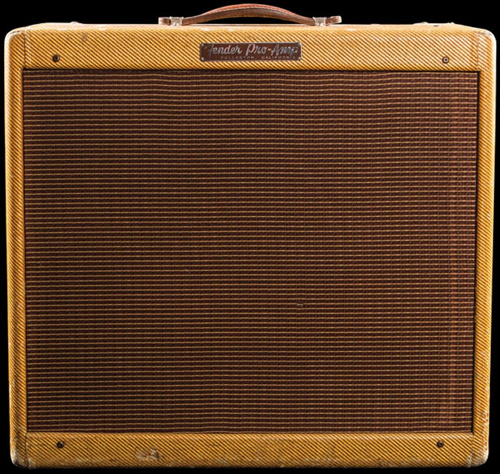 Vintage Vault: 1957 Fender Pro   Premier Guitar