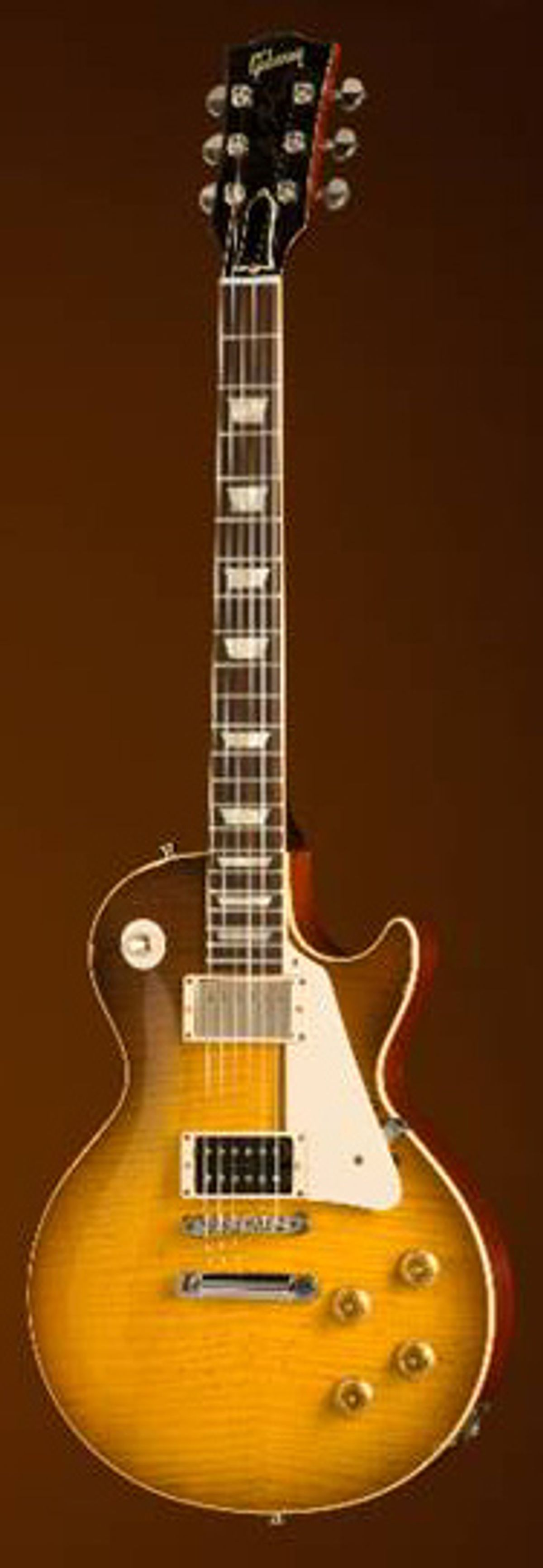 """Gibson Custom Shop Announces the Jimmy Page """"Number Two"""" Les Paul"""