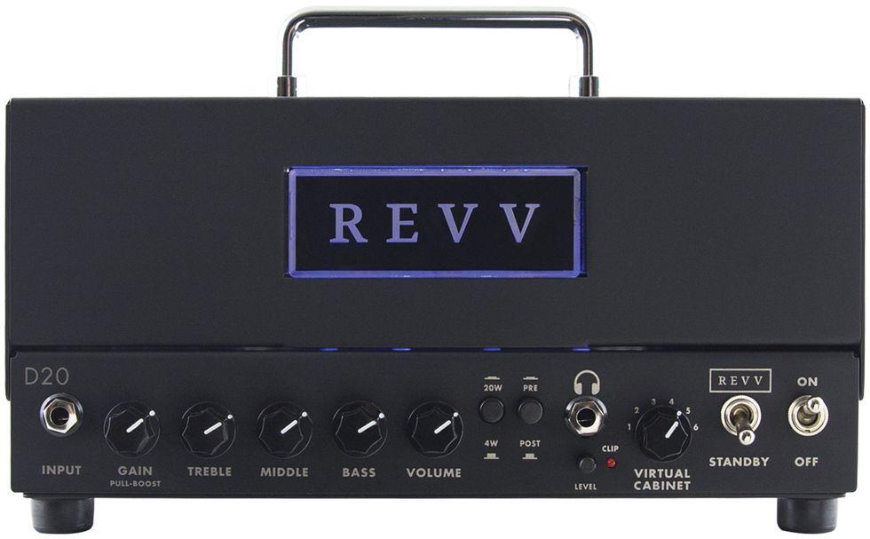 Revv D20 homepage