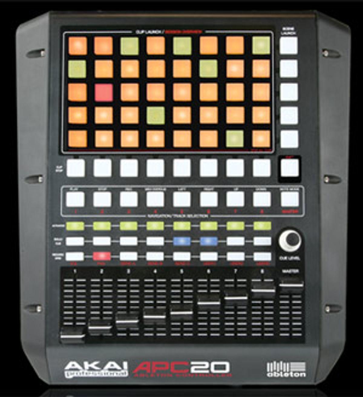Ableton and Akai Professional Release APC2 Ableton LiveController