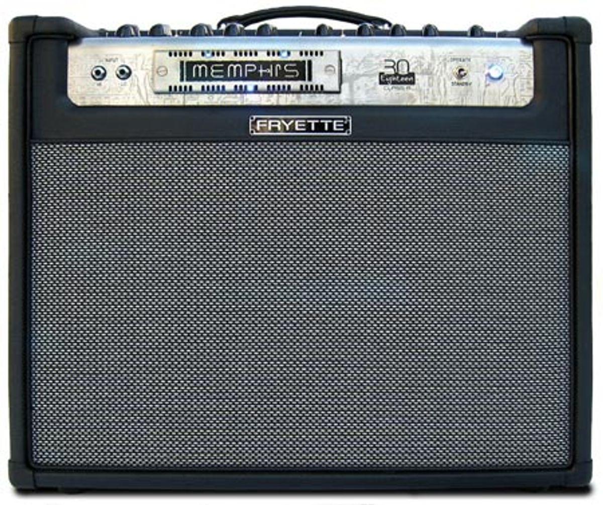 Fryette Amplification Memphis Thirty 1x12 Combo Amp Review
