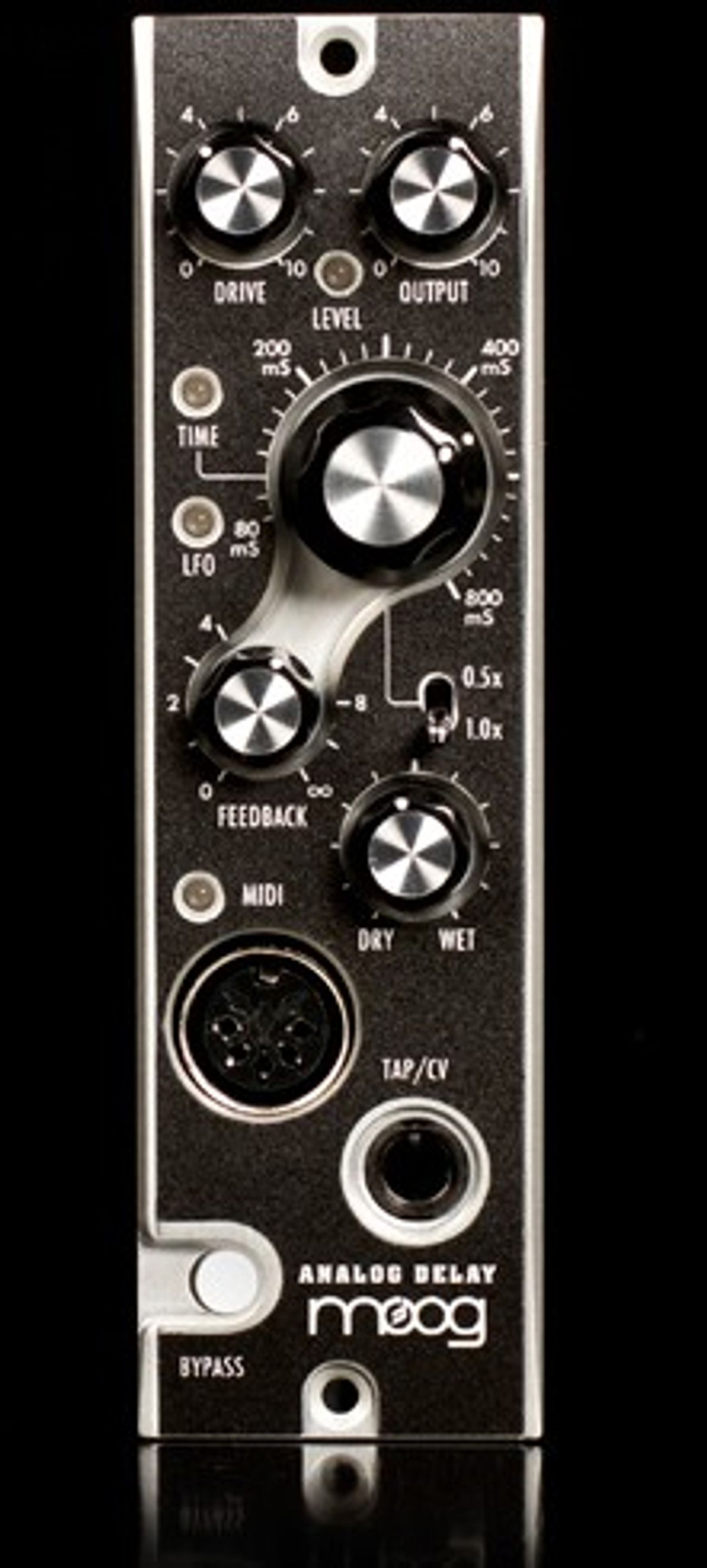 Moog Releases the 500 Series Analog Delay