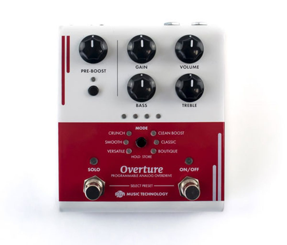 RJM Music Releases the Overture Programmable Overdrive